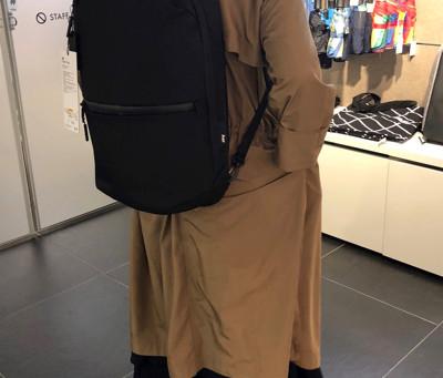 MoMAで扱うバックパック Aerのデザインと機能