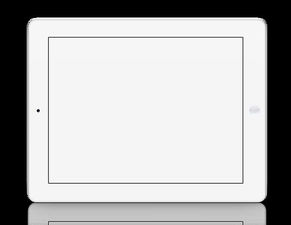 iPadにスライド画像