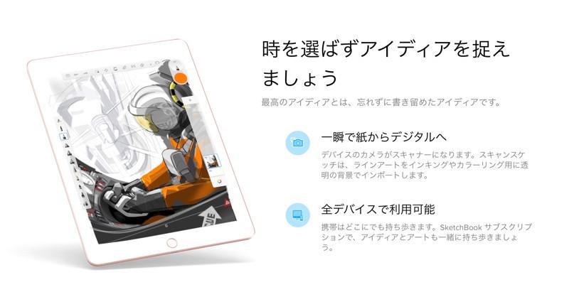 Sketchbook iPad