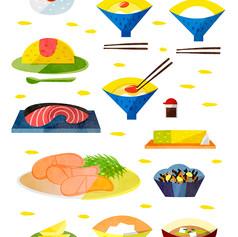 和食とちょっと洋食