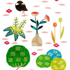 花・植物のイラスト