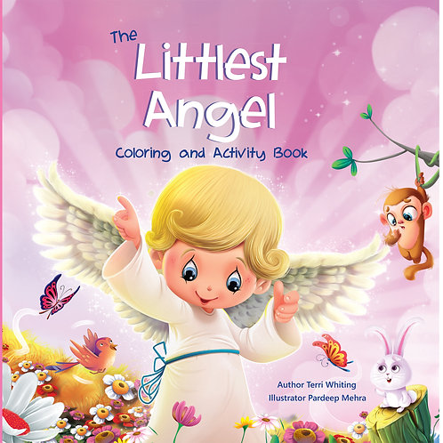 The littlest Angel Coloring and Activity Book