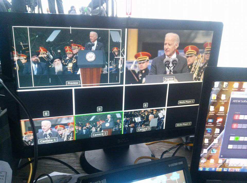 Vice President Joe Biden at the National Menorah lighting