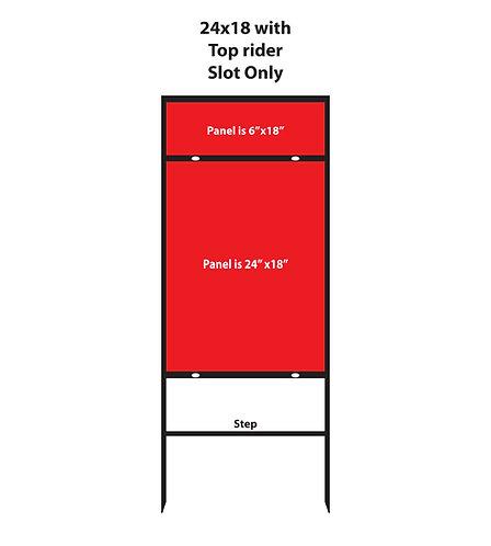 Vertical 24x18 Top Rider