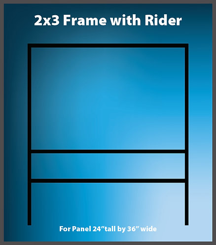 Large Frame  Bottom Rider