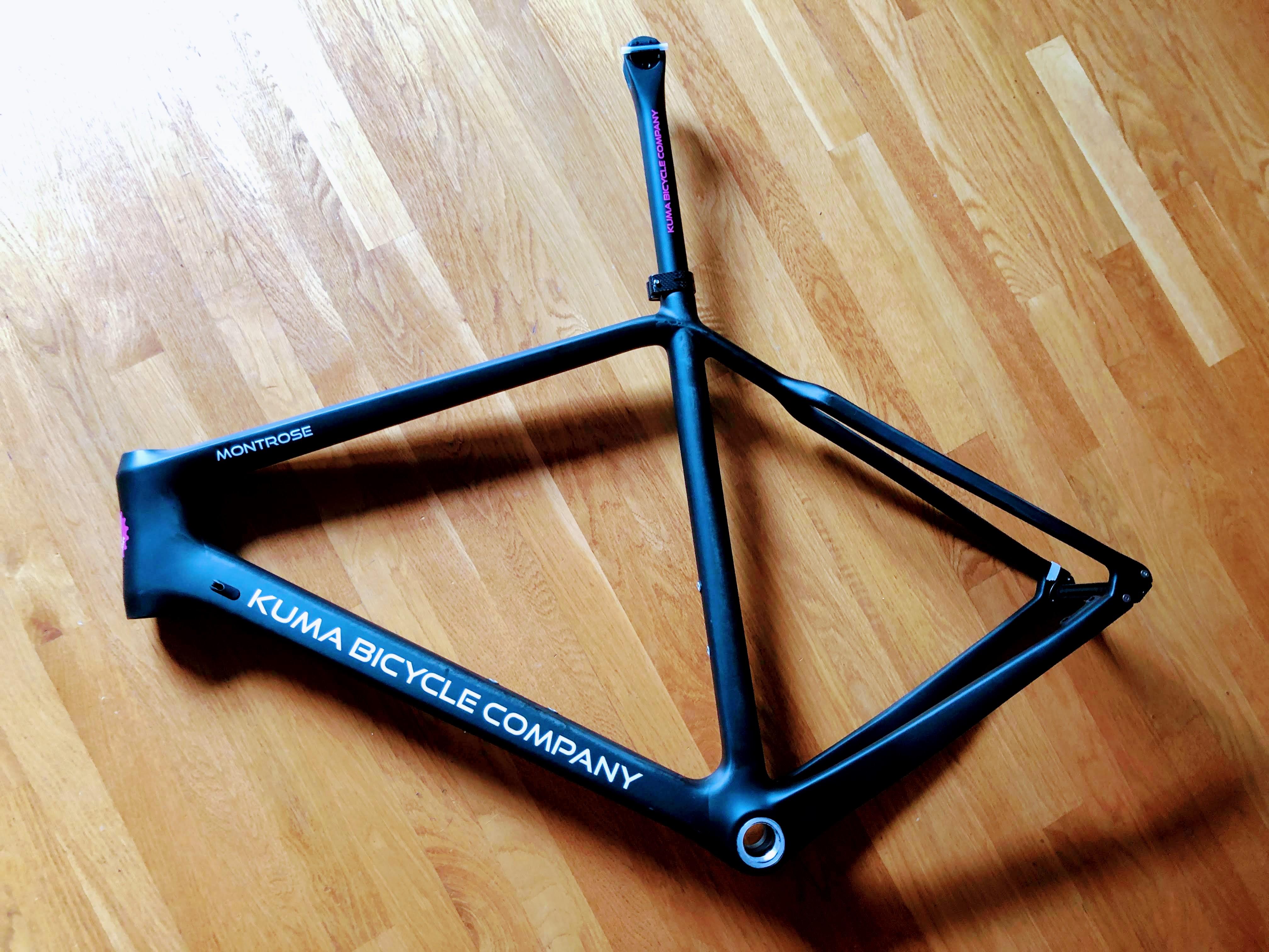 Montrose cyclocross frame