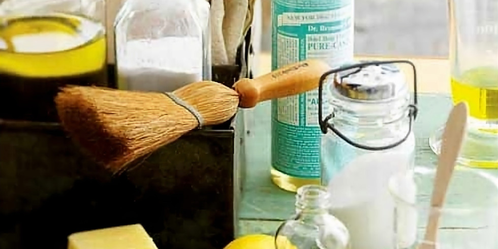 Atelier Produits ménagers naturels
