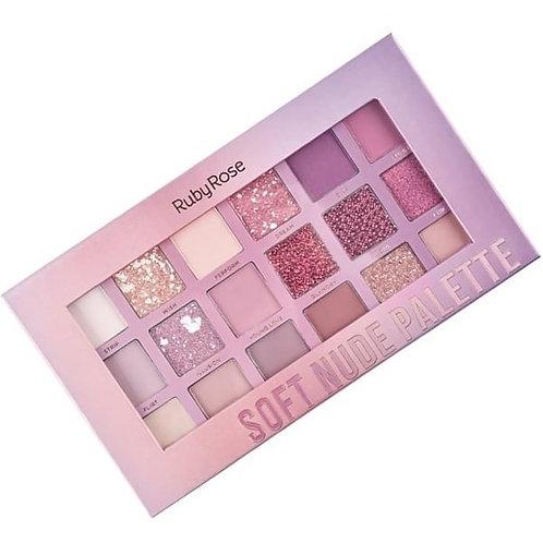 Paleta Soft Nude Palatte - Ruby Rose