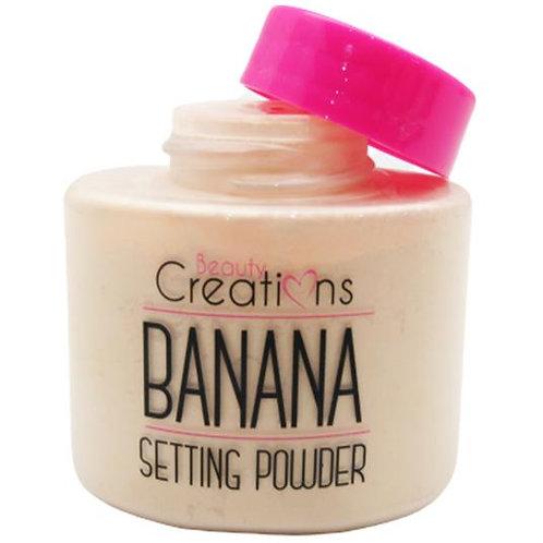 Polvo Traslucido Fijador de Banana - Beauty Creations
