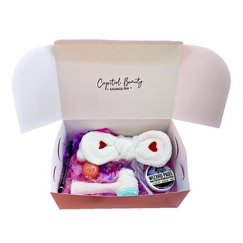 Caja regalo de maquillaje - Capital Box Bronze