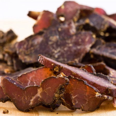Biltong - a must when in South Africa!