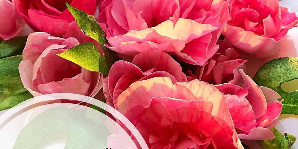 Бесплатный МК по вафельным цветам