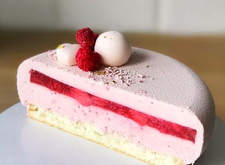 """Муссовый торт """"Клубничный Йогурт"""""""