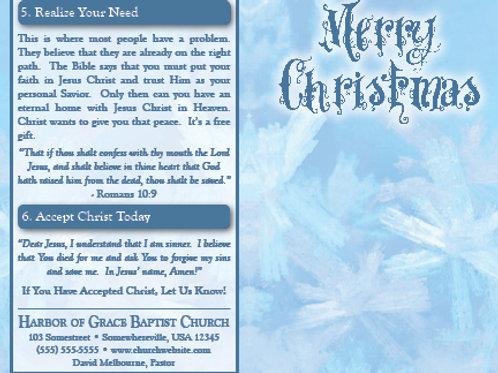 "Merry Christmas ""Snowflake"""