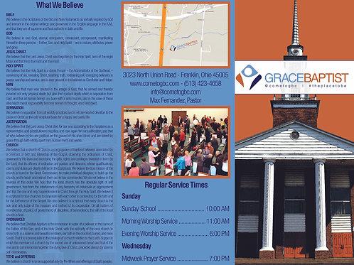 Modern Church Brochure