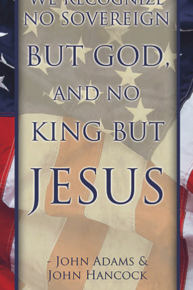 No King But Jesus - Patriotic