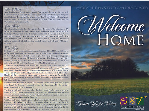 Custom Full Color Visitor Packets