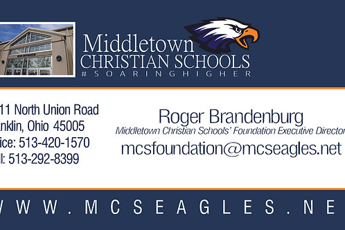 Educational Business Card