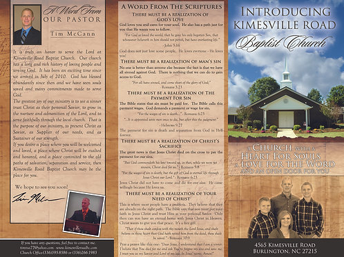 Family Church Brochure
