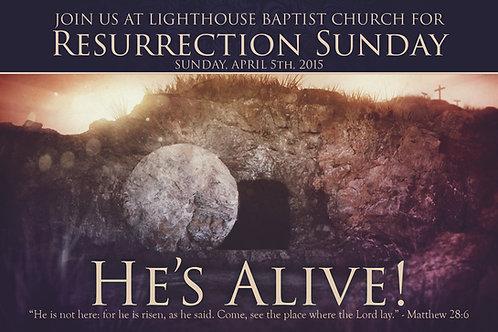 Easter Invitation Card 2