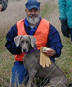 Steve Sieveking, AKC Tracking Judge, AKC Scent Work Judge