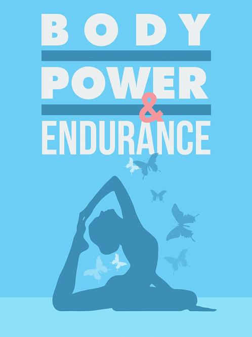 Potência e resistência do corpo