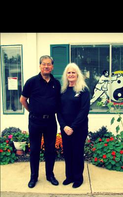 Grandmaster with Sifu Genie
