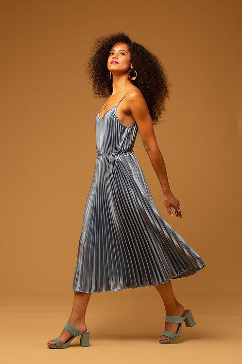 Zora Pleat Dress