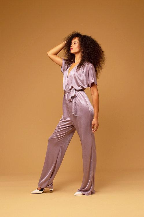 Lavender Lush Jumpsuit