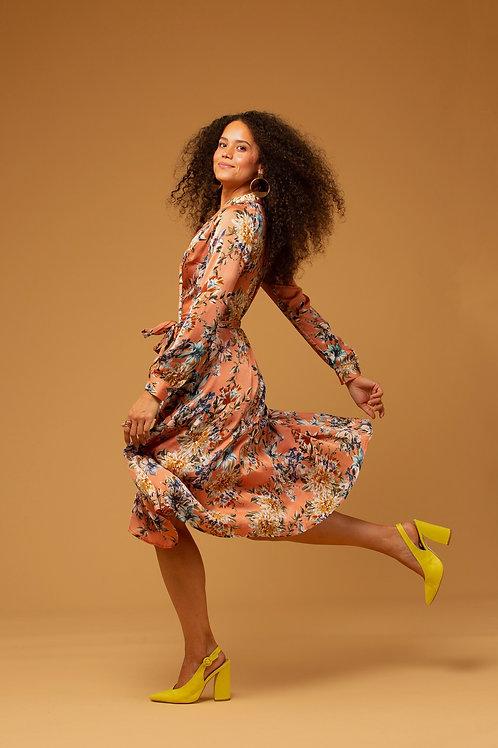Lorraine Wrap Dress