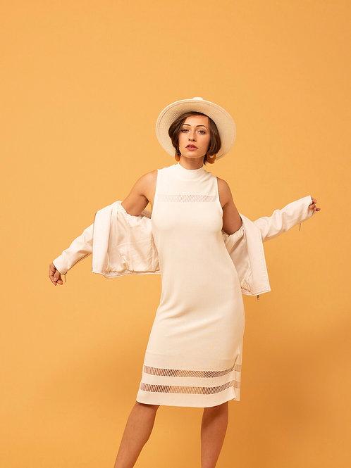 Frolic Of Fringe Midi Dress