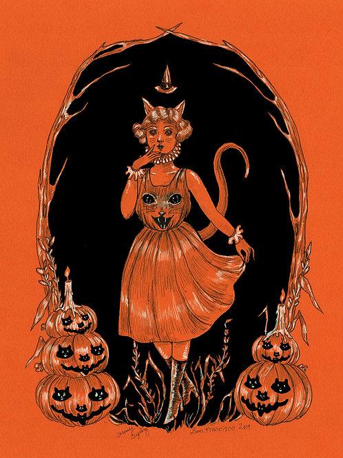 Halloween Harvest Greetings original
