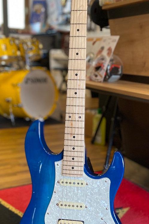FGN Boundary Odyssey TBS Transp. Blue Sunburst E-Gitarre
