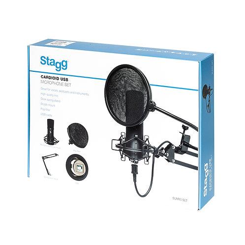 STAGG SUM45 SET USB MIKROFON