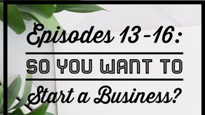 Episodes 13 - 16: So You Want to Start a Business
