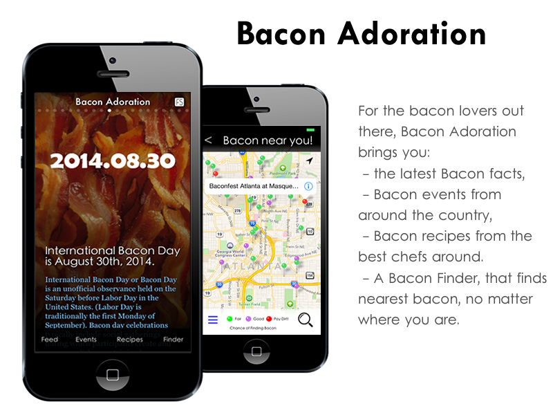 Bacon iPhone App