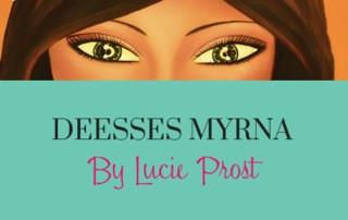 Dans l'atelier de Lucie PROST - Myrna