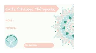 Carte privilège Réseau BELAM Savoie
