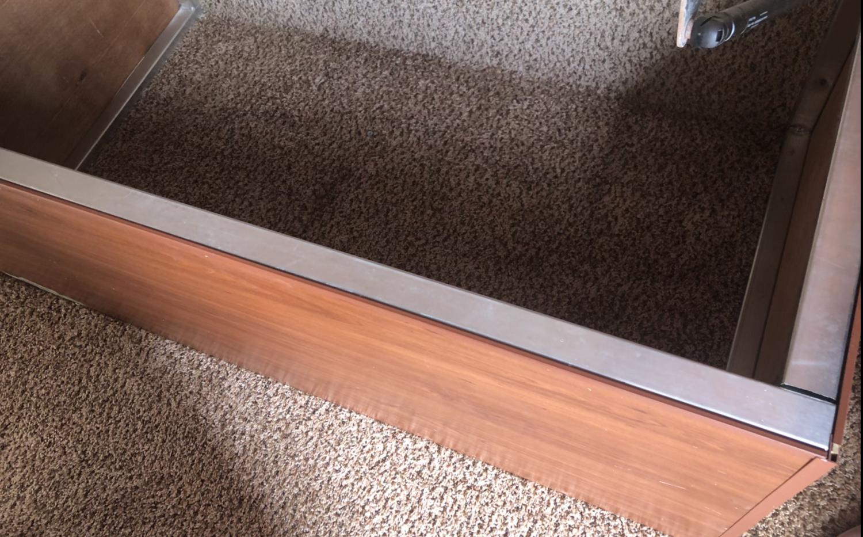 Storage under the bed