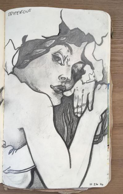 Art Nouveau Study 02