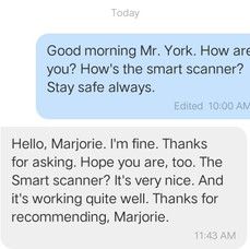 """"""" Really loved it. No hassle at all."""" -Mr. York"""