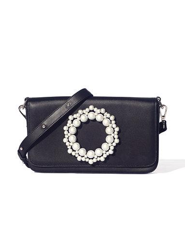Violacea Clutch Bag Black