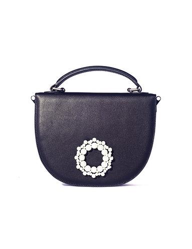 Centifolia Crossbody Bag Black