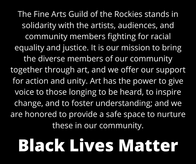 The Fine Arts Guild of the Rockies stand