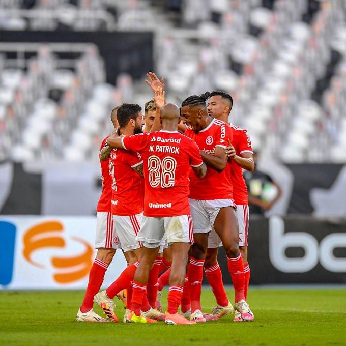 Internacional continua líder da competição após vencer o Botafogo. (Foto: SCInternacional)