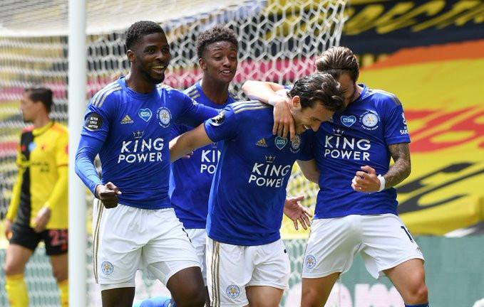 Mesmo não vivendo bom momento, o Leceister ainda se encontra no top4. (Foto: Leicester)