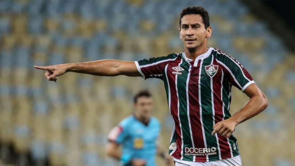 Ganso em ação pelo Fluminense. (Foto: FluminenseFC)