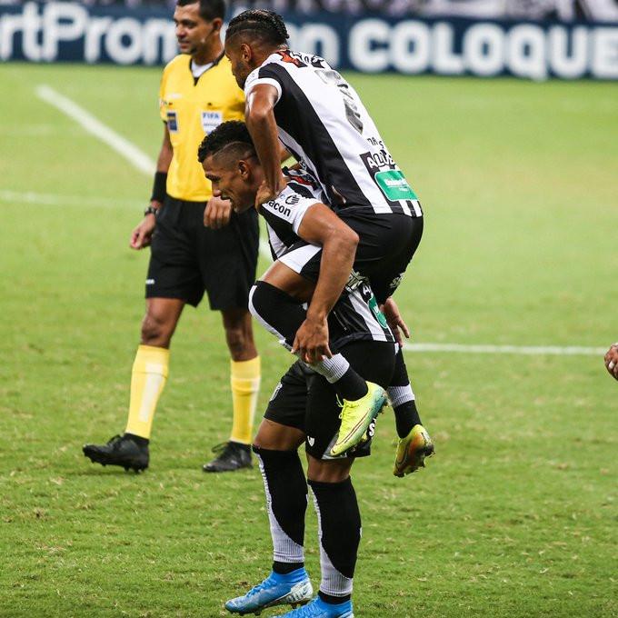Fernando Sobral durante um jogo pelo Ceará. (Foto: CearaSC)
