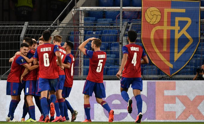 Basel não deu chances ao Frankfurt. (Foto: Europa League)