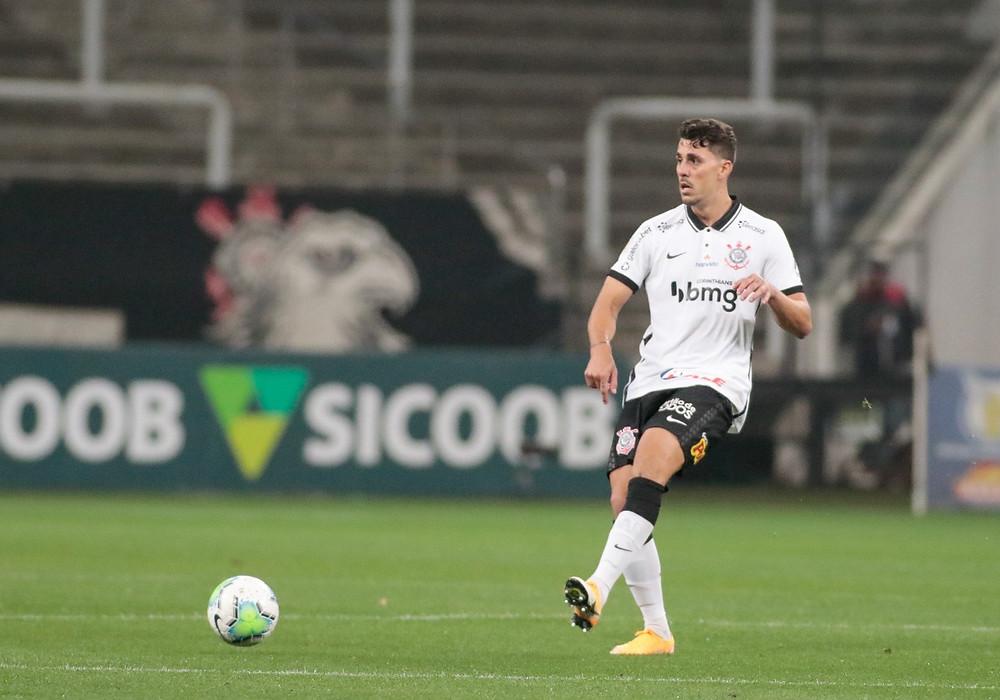 Danilo Avelar atuando pelo Corinthians. (Foto: Corinthians)